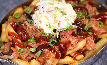 BBQ PORK FRIES