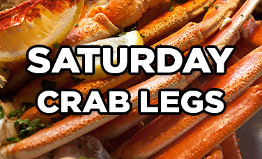 Saturday Crab Legs